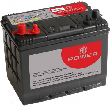 AB POWER Batterie 12 V - 86 Ah