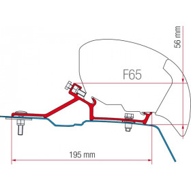 FIAMMA Kit F65/F80 R Master