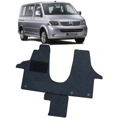 CARBEST Tapis cabine Basic VW T5