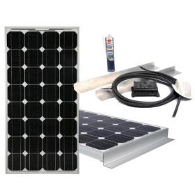 VECHLINE Kit panneau solaire 160W
