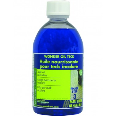 MATT CHEM Wonder Oil-teck huile de teck incolore