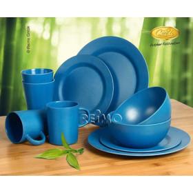 CAMP4 Set 10 pièces bambou bleu