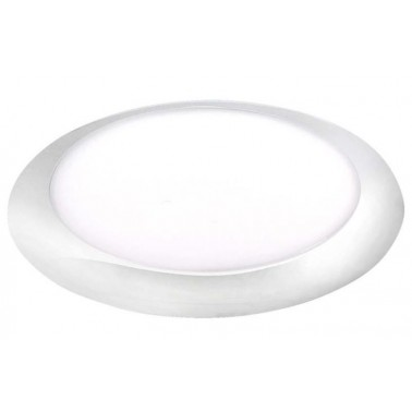 CARBEST Plafonnier LED ø 168 mm collerette blanche