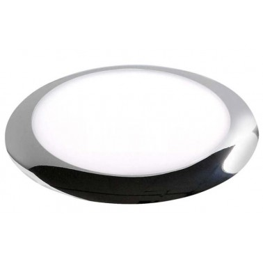 CARBEST Plafonner LED ø 168 mm collerette chromée
