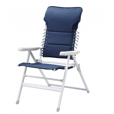 CAMPART TRAVEL Chaise Novara bleue