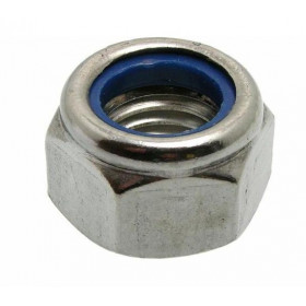 EUROMARINE Ecrou frein inox A4 DIN 985