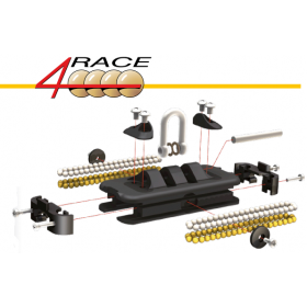 ANTAL Chariot 4 Race Taille 100
