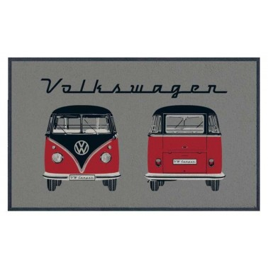 VW COLLECTION Paillasson gris T1