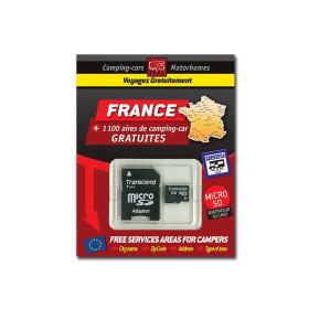 TRAILERS PARK Carte SD France des aires gratuites de camping-car