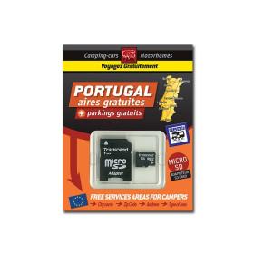 TRAILERS PARK Carte SD Portugal des aires gratuites de camping-car