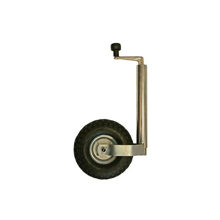 HABA Roue jockey ø 48 mm gonflable