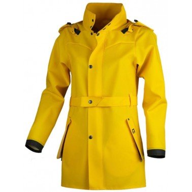 GUY COTTEN Trench Hecate Jaune