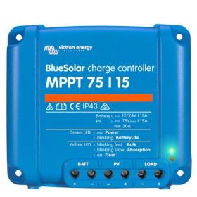 VICTRON Régulateur Blue Solar MPPT 75/15