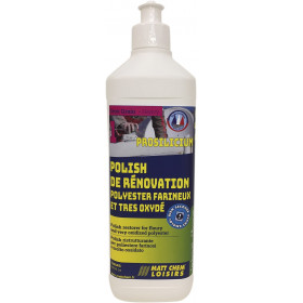 MATT CHEM Prosilicium polish polyester farineux