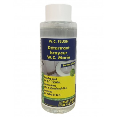 MATT CHEM W.C Flush détartrant broyeur