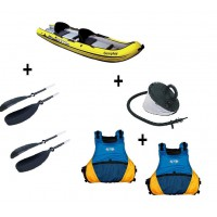Pack SEVYLOR Reef 300 : kayak gonflable sit-on-top livré avec pagaie et gilet
