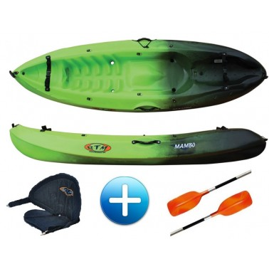 Kayak complet avec pagaie Pack mambo-1