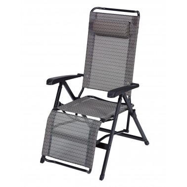 TRIGANO Fauteuil relax alu