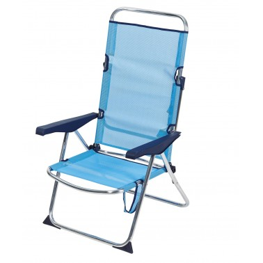 TRIGANO Fauteuil plage confort