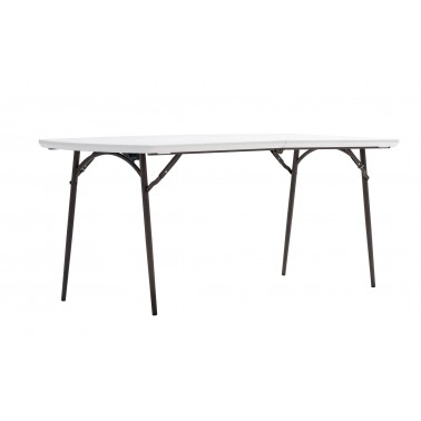 TRIGANO Table polyethylène pliante 180