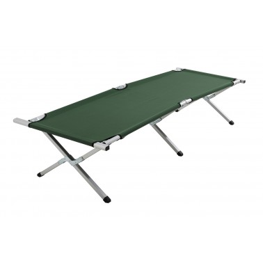 CAO Lit de camp repliable aluminium