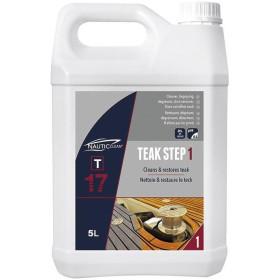 NAUTIC CLEAN T17 Teak step 1