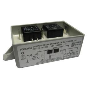SCHEIBER Coupleur séparateur 3 batteries
