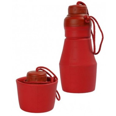 CAO Bouteille pliable silicone