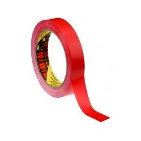 3M Ruban de masquage PVC rouge