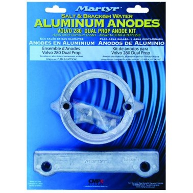 MARTYR Kit anodes Volvo
