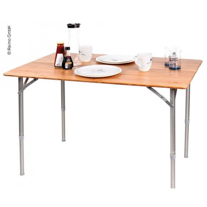 HT Table en bambou