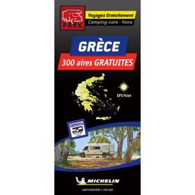 TRAILERS PARK Carte Grèce des aires gratuites camping-car