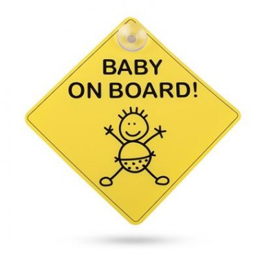 "SMARTWARES Avertissement ""Baby On Board"""