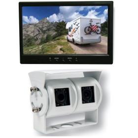 ANTARION Caméra de recul 7'' double optique