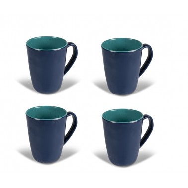 KAMPA Set 4 mugs Aegean