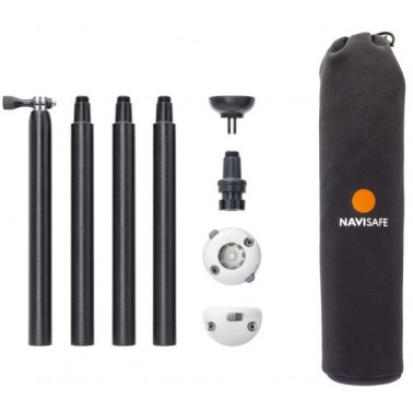 NAVISAFE Kit de fixation & hampe