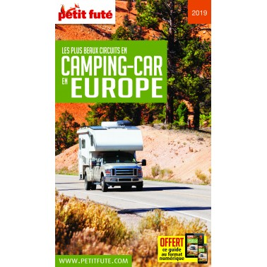 PETIT FUTE Europe Camping-car 2018-2019