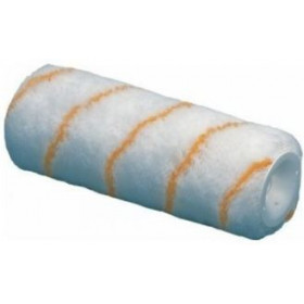 BRUSH'N'ROLL Manchon polyamide rayé jaune