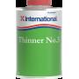 Accessoire bateau & entretien, INTERNATIONAL N°3, diluant pour antifouling & vernis marin