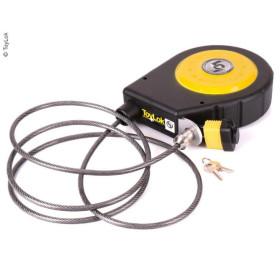 TOYLOK Cadenas à câble 4,5 m