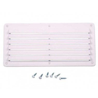 CARBEST Grille de ventilation rectangulaire