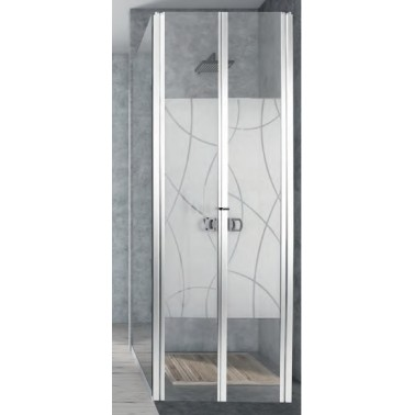 CARBEST Portes de douche PMMA 650 x 1800 mm