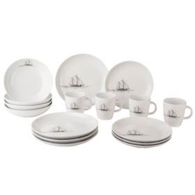 GIMEX Set vaisselle 16 pièces Voilier