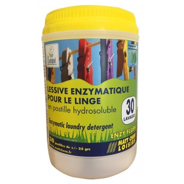 MATT CHEM Enzy Flush lessive enzymatique pour linge