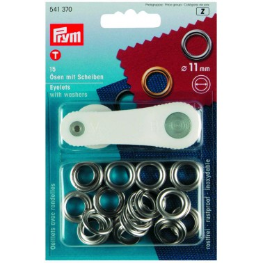 PRYM Oeillets laiton ø 11 mm