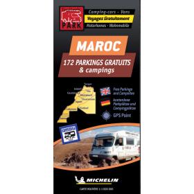 TRAILERS PARK Carte Maroc aires gratuites camping-car