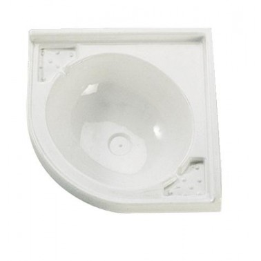 THERMOFORM Lavabo d'ange 42 x 42