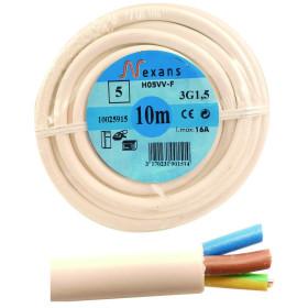 EUROMARINE Câble souple 3 x 1,5 mm²