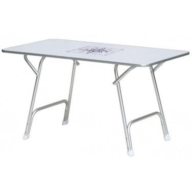 OSCULATI Table pliante 130 x 73 cm