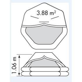PLASTIMO Radeau 10 P Transocéan Plus ISO 9650-1